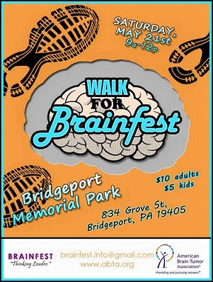 Philadelphia area Local Bands TO HOLD Festival TO RAISE FUNDS FOR THE AMERICAN BRAIN TUMOR ASSOCIATION